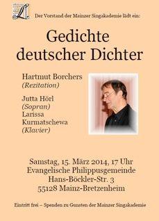 Gedichte Deutscher Dichter